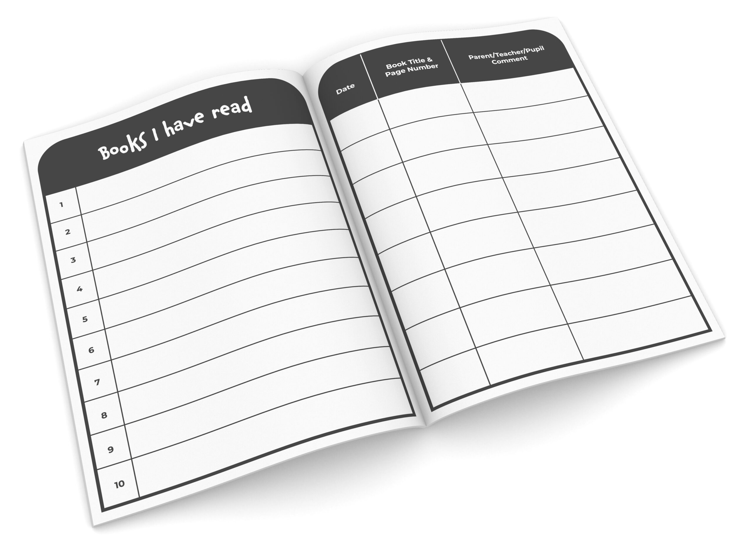 A5 Reading Record - The Exercise Book Company